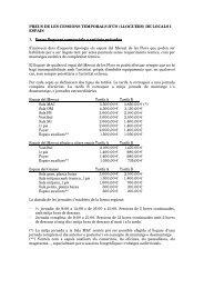 DE LOCALS I ESPAIS 1. Preus lloguers comercials a entitats ...