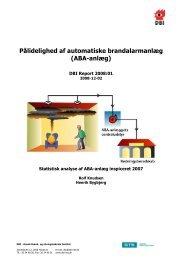 Pålidelighed af automatiske brandalarmanlæg (ABA-anlæg)