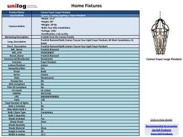 Home Fixtures