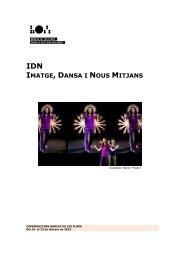 IDN IMATGE DANSA NOUS MITJANS