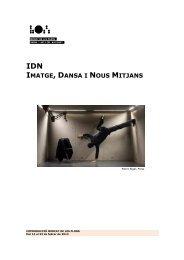 IMATGE, DANSA I NOUS MITJANS - Mercat de les Flors