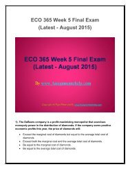ECO 365 Final Exam Latest Assignment UOP Help.pdf