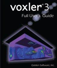 Voxler 3 Full User's Guide - Golden Software