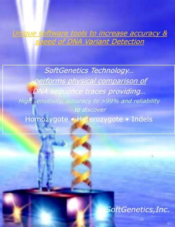 SoftGenetics,Inc