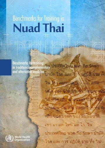 Nuad Thai - World Health Organization
