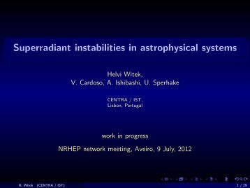 Superradiant instabilities in astrophysical systems