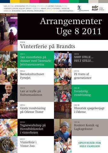 Arrangementer Uge 8 2011