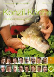 Konzil Köche - dieredaktion.net