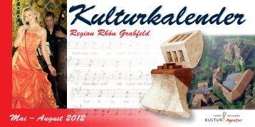 Donnerstagskonzerte in Bad Neustadt 12. Juli – 23. August 2012 ...
