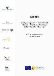 Agenda - European Centre for Social Welfare Policy and Research