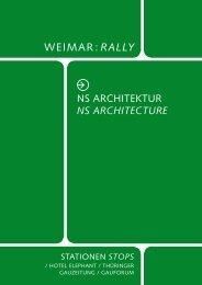 NS architecture - Klassik Stiftung Weimar