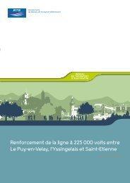 Renforcement de la ligne à 225 000 volts entre Le Puy-en-Velay, l ...
