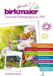 Unsere SETRA Reisebusflotte - Birkmaier Reisen
