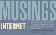 Musings on the Internet - Educause