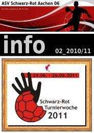 Übersicht Rückrundenspiele 1. Damenmannschaft ... - Schwarz-Rot
