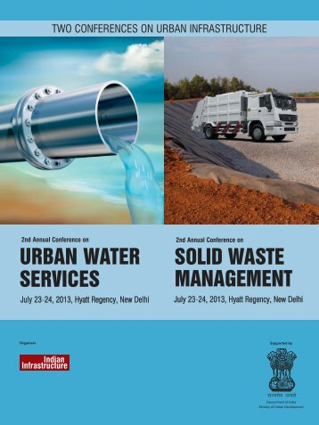 URBAN WATER SERVICES SOLID WASTE MANAGEMENT