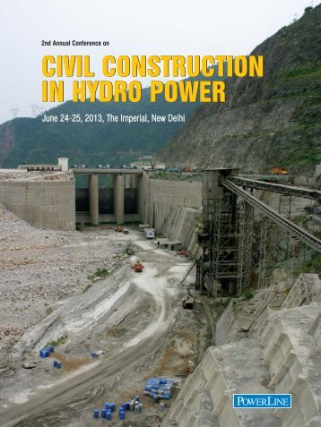 CIVIL CONSTRUCTION IN HYDRO POWER