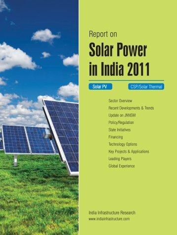 Solar Power in India 2011