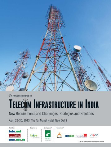 TELECOM INFRASTRUCTURE INDIA