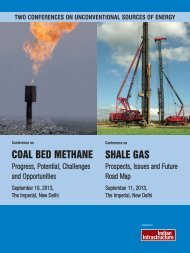 COAL BED METHANE SHALE GAS