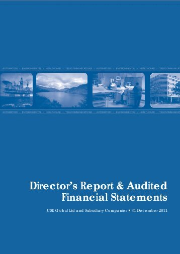 Director's Report & Audited Financial Statements