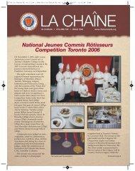 57566 La Chaine NL vol 6 iss 1 - la Chaine des Rotisseurs ...
