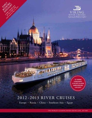 Viking River Cruises Sample Menu