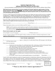 Volunteer Form 2013-2014 - Corvallis School District 509J