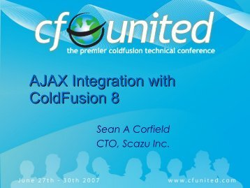 AJAX Integration with ColdFusion 8