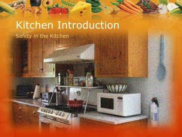 Kitchen Introduction