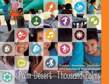 Palm Desert • Thousand Palms