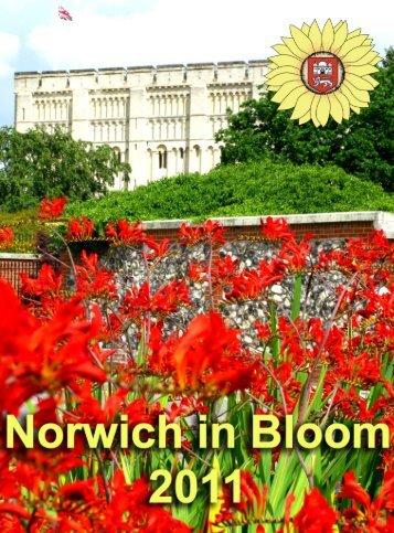 2011 portfolio - Norwich In Bloom
