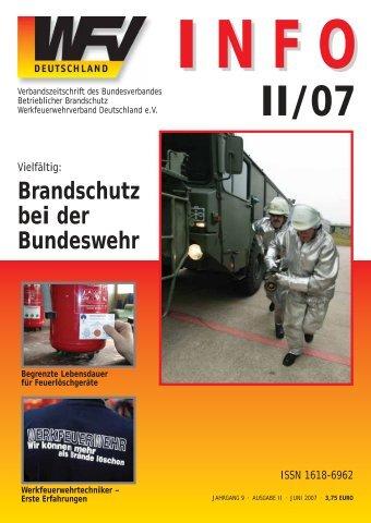 Brandschutz bei der Bundeswehr - Werkfeuerwehrverband ...