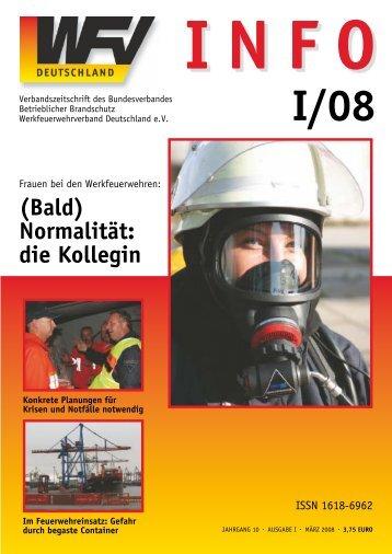 INFO - Werkfeuerwehrverband Deutschland eV