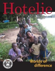 Worlds of difference - Cornell School of Hotel Administration ...