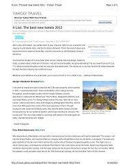 It List: The Best New Hotels 2012 - Starwood Hotels & Resorts