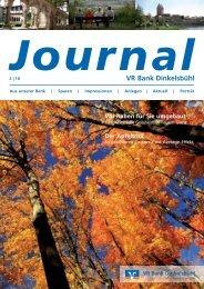 Ausgabe 02/10 Oktober 2010 - VR Bank Dinkelsbühl eG