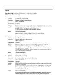 28 december 2012 - Bestuurlijke informatie gemeente Borne