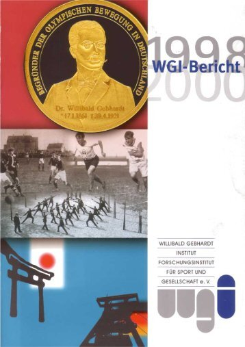 Bericht 1998-2000 (PDF/5,27MB) - Willibald Gebhardt Institut