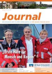 Ausgabe 02/11 Dezember 2011 - VR Bank Dinkelsbühl eG