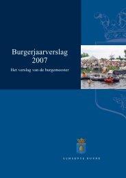 Burgerjaarverslag 2007