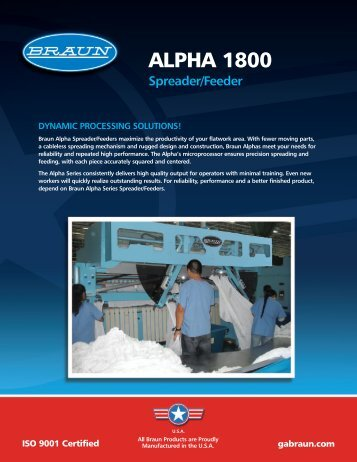 ALPHA 1800