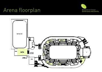 Arena floorplan