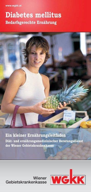 Diabetes mellitus - Wiener Gebietskrankenkasse