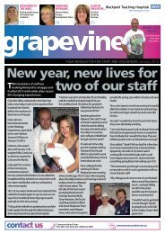New year new lives for two of our staff