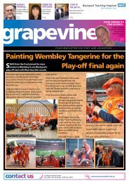 Painting Wembley Tangerine for the Play-off final again