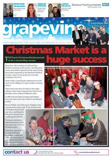 Christmas Market is a huge success