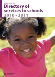 Directory of services to schools 2010 - 2011