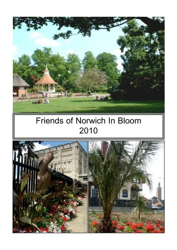 2010 portfolio - Norwich In Bloom