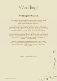 Weddings by Centara